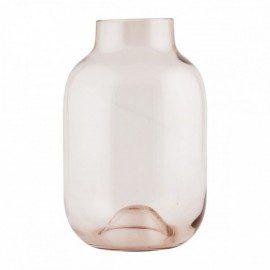 Stor House Doctor Vase – Shaped – Aubergine fra House Doctor