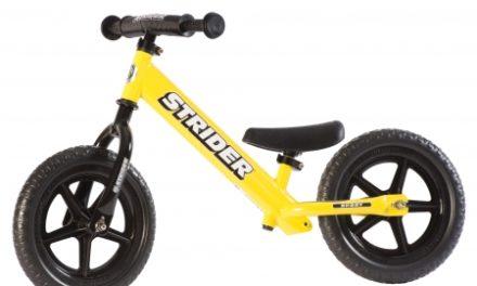 Strider Sport – Løbecykel – Gul