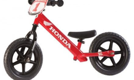 Strider Sport – Løbecykel – Honda-rød