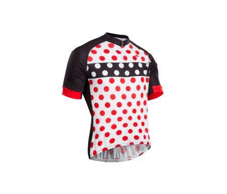 Sugoi Evolution Zap Jersey – Cykeltrøje med korte ærmer – Hvid/Rød