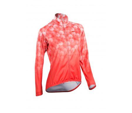 SUGOi Evolution ZAP – Langærmet dame cykeltrøje med lynlås – Coral