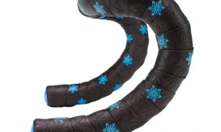 Supacaz Super Sticky Kush Galaxy – Styrbånd – Sort/Neon blå