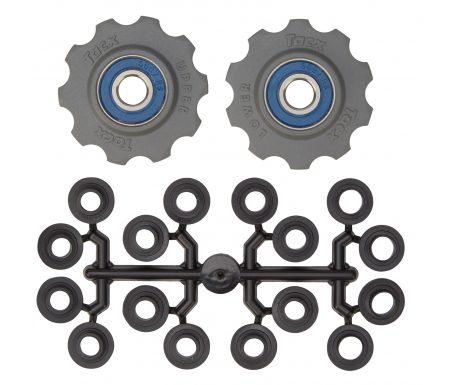 Tacx pulleyhjul med 10 tænder – Grå – Rustfrit stål