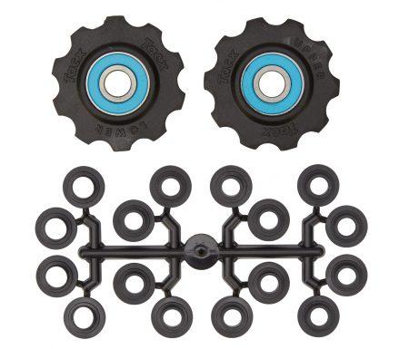 Tacx pulleyhjul med 10 tænder – Med keramiske lejer og teflon