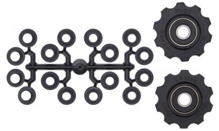 Tacx pulleyhjul med 10 tænder – Med maskinlejer