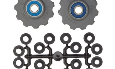 Tacx pulleyhjul med 11 tænder – Grå – Rustfrit stål