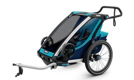 Thule Chariot Cross 1 – Multisportstrailer til 1 barn – Sort/Blå