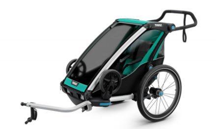 Thule Chariot Lite 1 – Multisportstrailer til 1 barn – Sort/Grøn