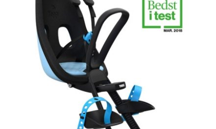 Thule Yepp Nexxt Mini – Cykelstol med 5-punktssele – Blå