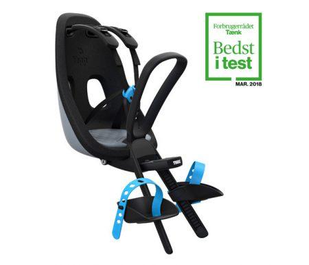 Thule Yepp Nexxt Mini – Cykelstol med 5-punktssele – Grå