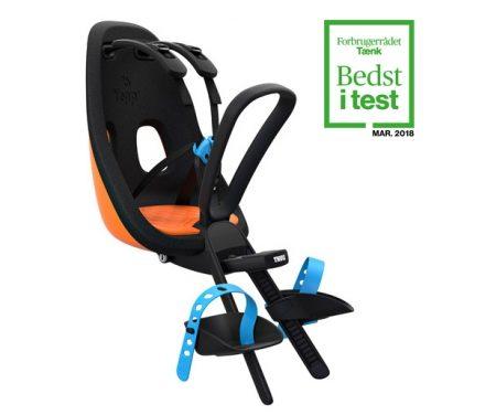 Thule Yepp Nexxt Mini – Cykelstol med 5-punktssele – Orange