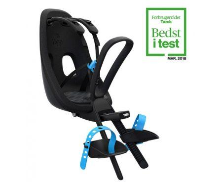 Thule Yepp Nexxt Mini – Cykelstol med 5-punktssele – Sort