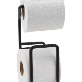 Toiletpapirholder fra House Doctor – Via – Sort fra House Doctor