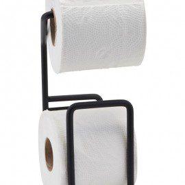 Toiletpapirholder fra House Doctor – Via – Sort fra House Doctor