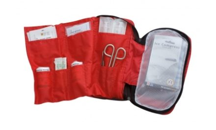 TravelSafe – Førstehjælpstaske uden indhold – Str. Medium