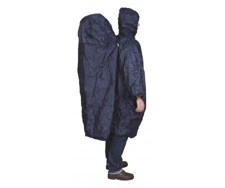 TravelSafe Poncho Zipper Extension – Regnslag med plads til rygsæk