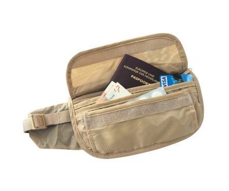 TravelSafe Skin Waist Pouch – Pengebælte – Sandfarvet