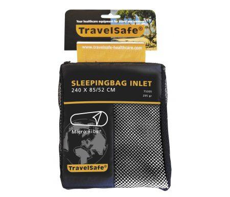 TravelSafe Sleepingbag Inlet Micro Fiber Mummy – Lagenpose – Hvid