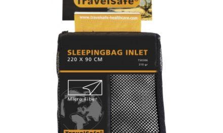 TravelSafe Sleepingbag Inlet Micro Fiber Rektangulær – Lagenpose – Hvid