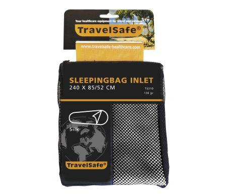 TravelSafe Sleepingbag Inlet Silk Mummy – Silke lagenpose – Hvid