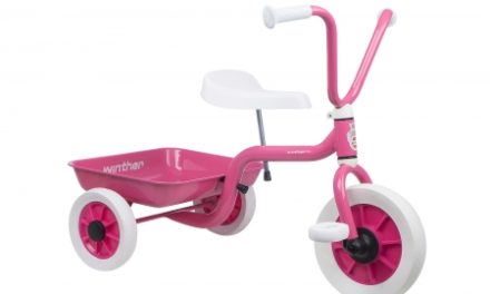 Trehjulet cykel Winther Pink