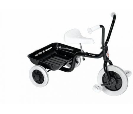 Trehjulet cykel Winther sort