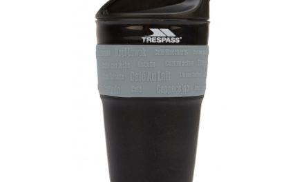 Trespass Coffeepop – Foldbar silikone kop – 355 ml. – Sort