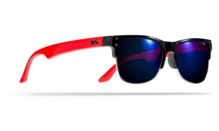 Trespass Esteban – Børnesolbriller – Sort/rød