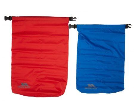 Trespass Euphoria – Drybag sæt – 10 liter blå – 15 liter rød