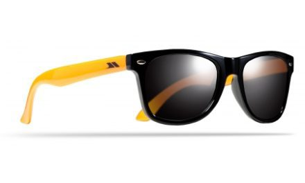 Trespass Flume – Børnesolbriller – Sort/orange