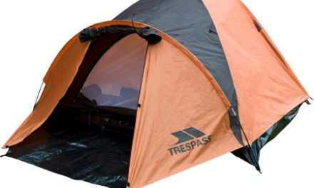 Trespass Ghabhar – 4 personers telt – Rød