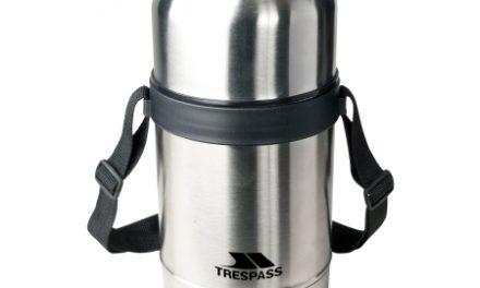 Trespass Gumbo – Thermo madbeholder  – 750 ml. – Rutfrit stål