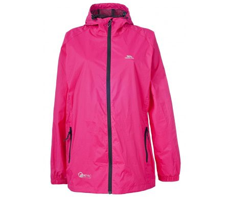 Trespass Qikpac – Regnjakke – Unisex – Pink