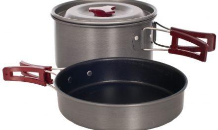 Trespass Reheat – Grydesæt – Slip-let belægning – 1 + 2 liter