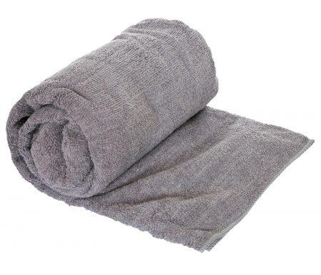Trespass Transfix Change towel – Hurtigtørrende mikrofiber håndklæde – Grå – 80 x 140 cm