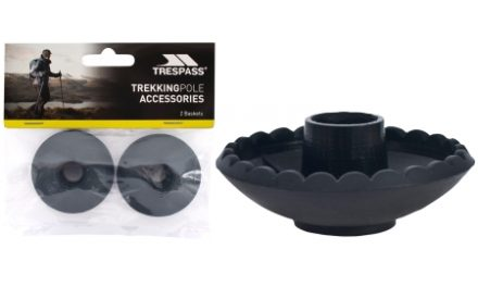 Trespass Transplus – Trinse til vandrestave – Sort