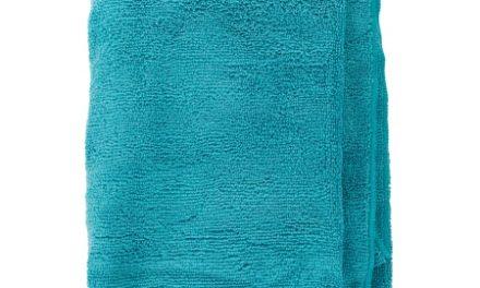 Trespass Wringin – Hurtigtørrende mikrofiber håndklæde – Turkis – 70 x 135 cm.