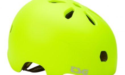 TSG Cykel- og skaterhjelm – Meta solid color – Satin acid gul