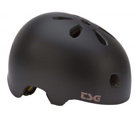 TSG Cykel- og skaterhjelm – Meta solid color – Satin black