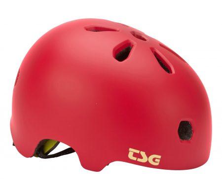 TSG Cykel- og skaterhjelm – Meta solid color – Satin blooming pink