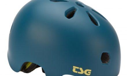 TSG Cykel- og skaterhjelm – Meta solid color  – Satin jungle