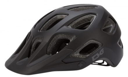 TSG Cykelhjelm – Seek solid color – MTB – Satin black