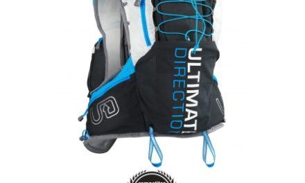 Ultimate Direction PB Adventure Vest 3.0 – Løbevest – Grå/sort/blå