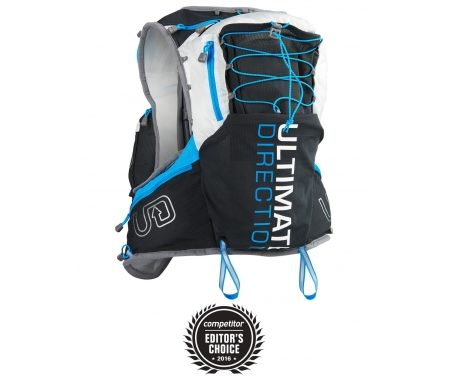 Ultimate Direction PB Adventure Vest 3.0 – Løbevest – Grå/sort/blå