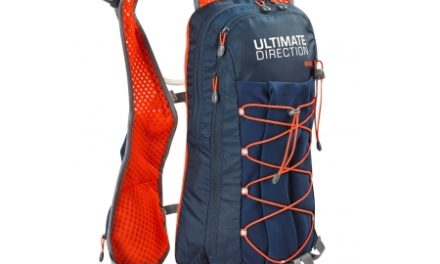 Ultimate Direction Wasp – Rygsæk inkl. 2 liter væskeblære – Navy/orange