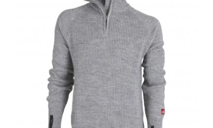Ulvang Rav Sweater w/zip – Uldtrøje Unisex – Grå