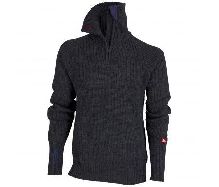 Ulvang Rav Sweater w/zip – Uldtrøje Unisex – Koksgrå