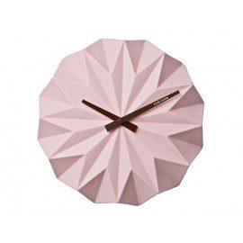 Karlsson Vægur – Origami pink fra Karlsson