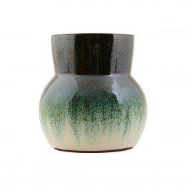 Vase fra House Doctor – Flower – Grøn/Hvid fra House Doctor