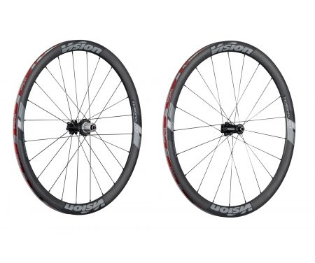 Vision Trimax Carbon 40 Disc CL – Hjulsæt – 700c – Clincher – Carbon/Alu